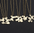 5Pcs/Set Best Friend Necklace