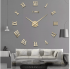 3D Clock Wall Sticker